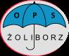 *Logo OPS rozłożona parasolka*